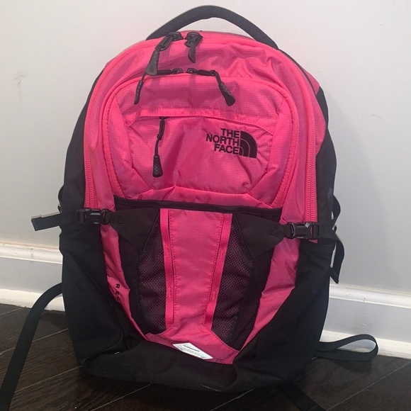 North Face Hot Pink Recon Backpack